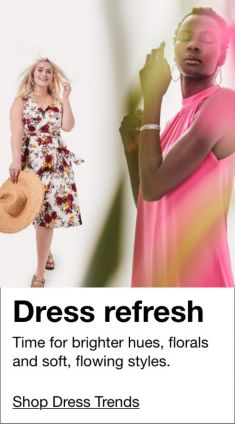 Dress refresh, Shop Dress Trends