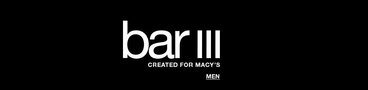 Bar III, Created For Macy's, Men