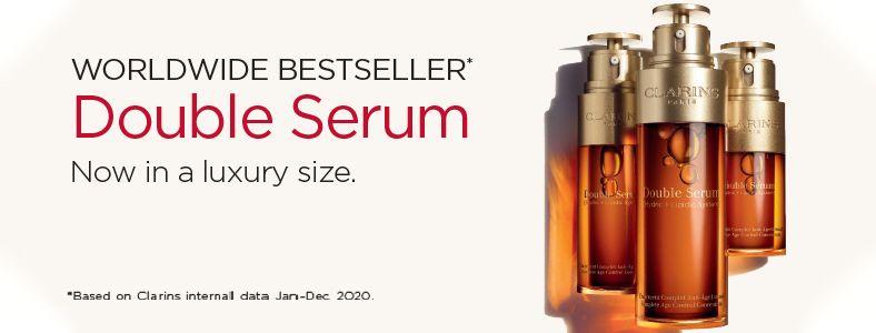 Worldwide Bestseller, Double Serum, Now in a Luxury size