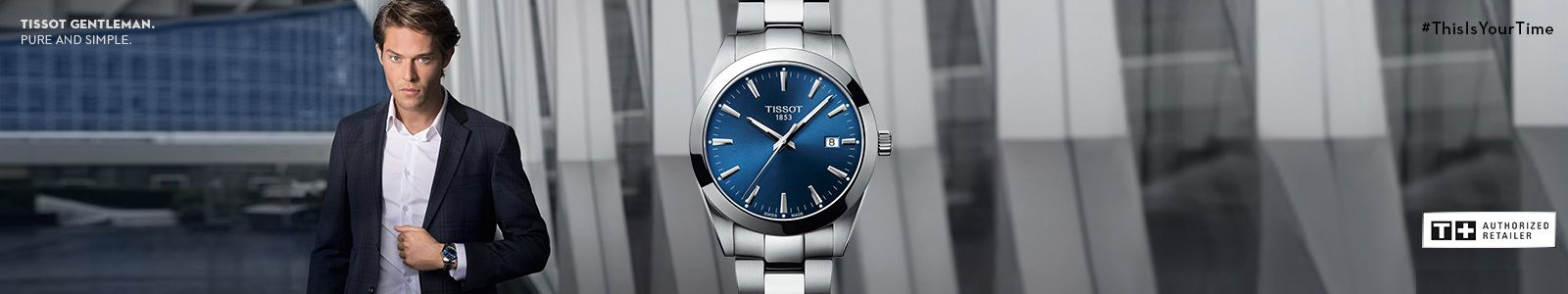 Tissot Gentleman, Pure and Simple