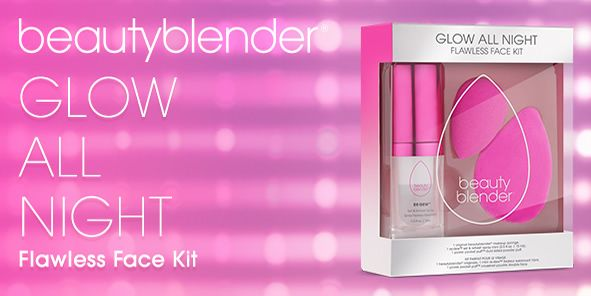 Beautyblender, Glow all Night, Flawless Face Kit