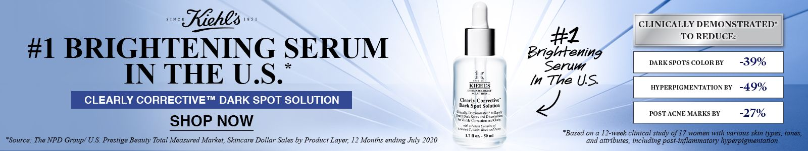 Kiehl's Clearly Corrective TM Dark Spot Solution, Shop Now