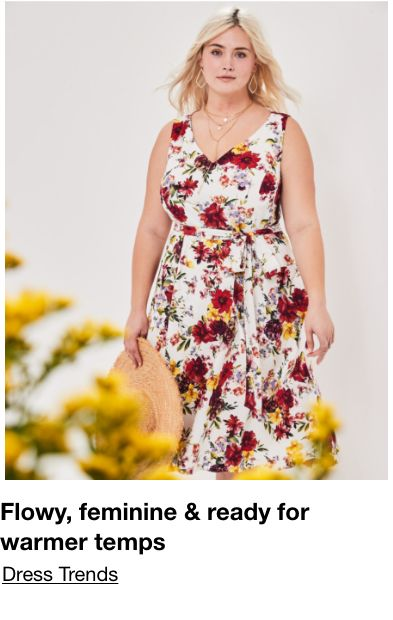 Flowy, feminine and ready for warmer temps, Dress Trends