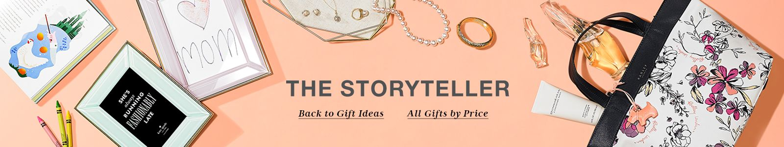 The Storyteller, Back to Gift Ideas, All Gifts by Price