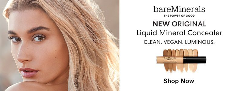 bareMinerals, The Power Of Good, New Original, Liquid Mineral Concealer, Clean, Vegan, Luminous, Shop Now