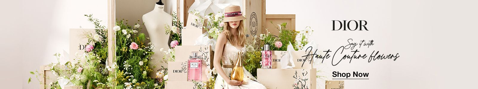 Dior, Shop now