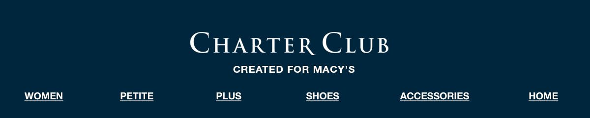 Charter Club, Created For Macy's, Women, Petite, Plus, Shoes, Accessories, Home