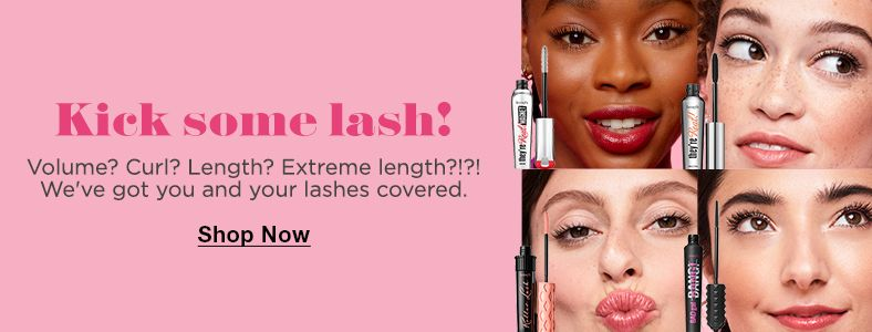 Kick some lash!, Shop now