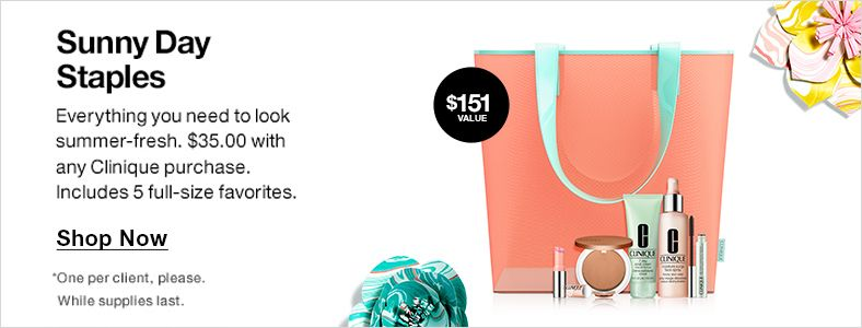 Sunny Day Staples, Shop Now, $151 Value