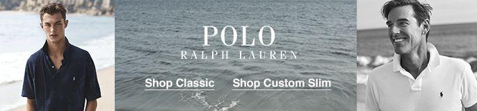 Polo, Ralph Lauren, Shop Classic, Shop Custom Slim