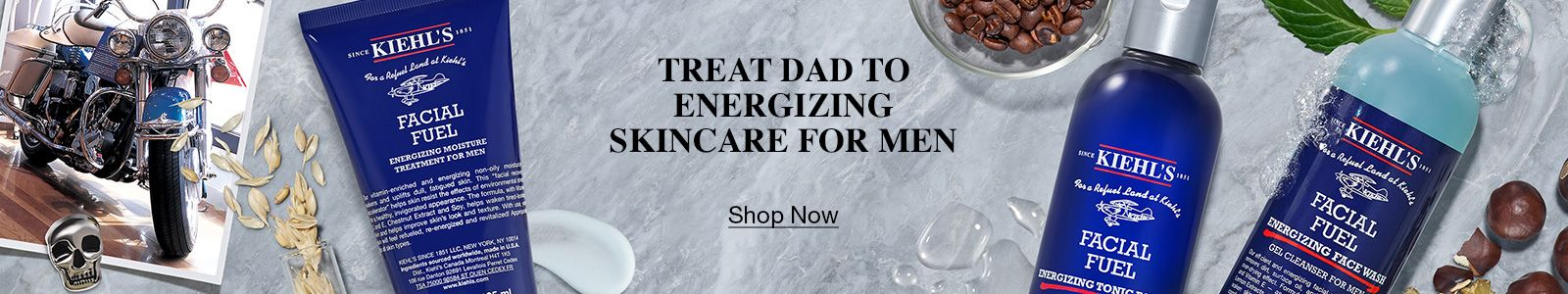 Treat Dad To Energizing Skincare For Men