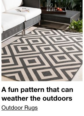 A fun pattern that can weather the outdoors