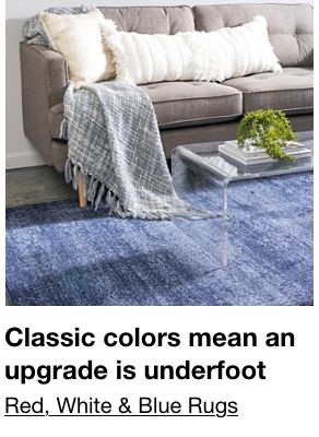 Classic colors mean an upgrade in underfoot