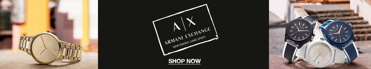 Ax, Armani Exchange, New Energy, Same Spirit, Shop Now