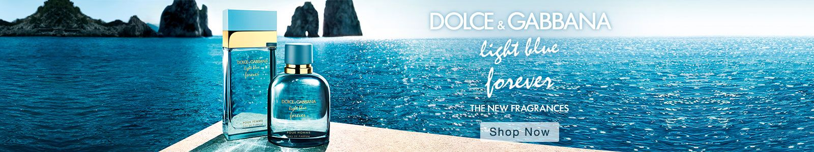 Dolce and Gabbana, Light blue forever