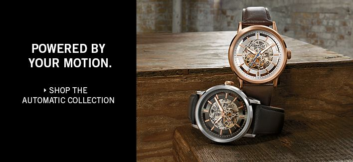 Powered by Your Motion, Shop the Automatic Collection