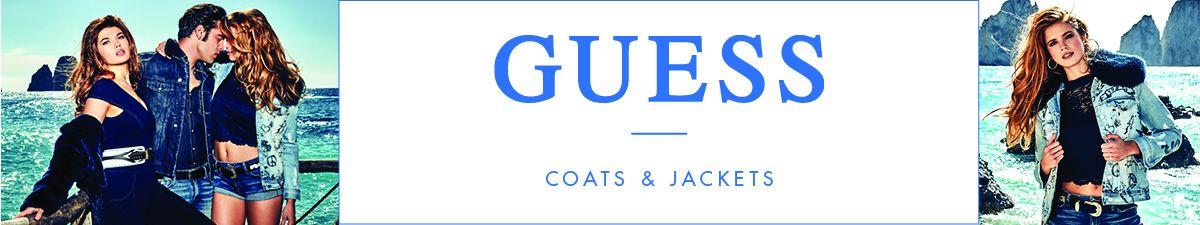 Guess, Coats and Jackets