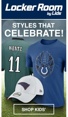 Locker Room by Lids, Styles That Celebrate! Shop Kids