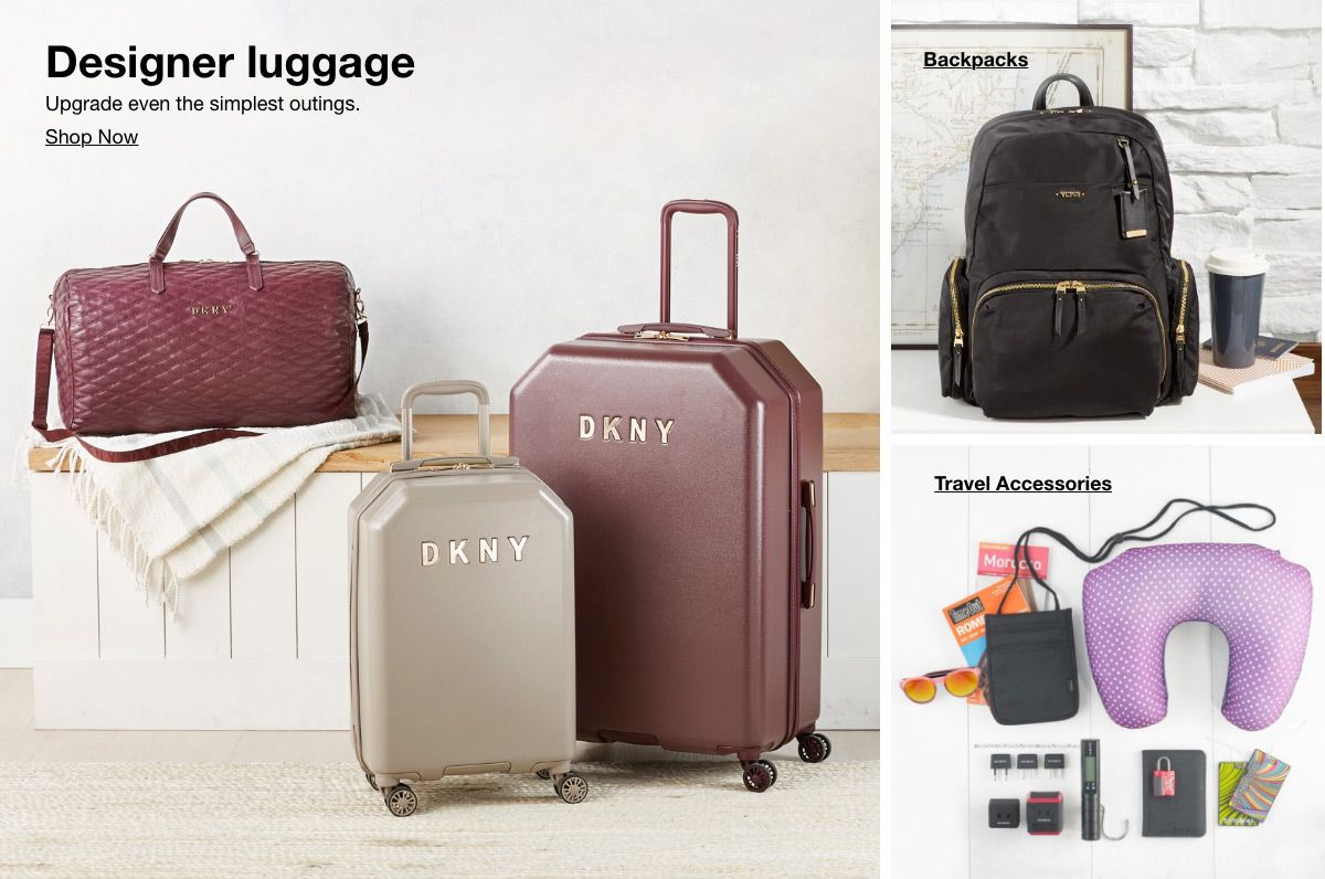 Designer luggage, Shop Now, Backpacks, Travel Accessories
