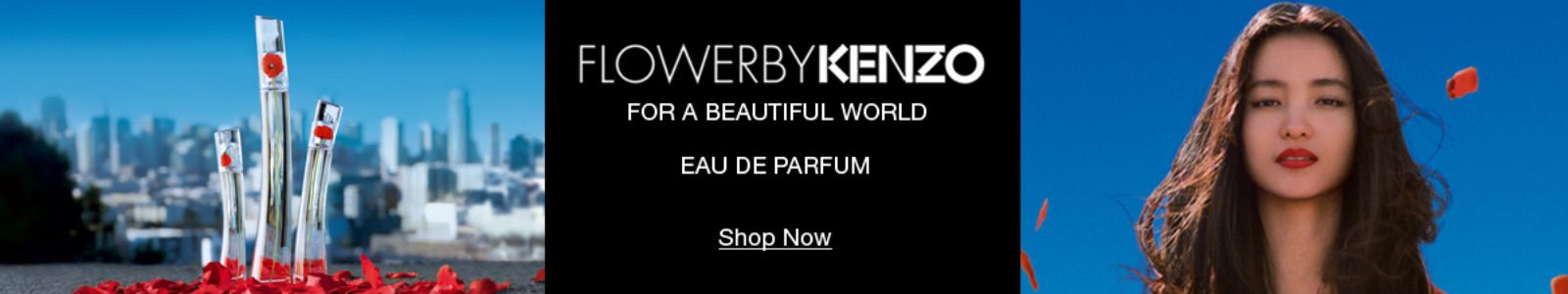 Flower By Kenzo, For a Beautiful World, Eau De Parfum