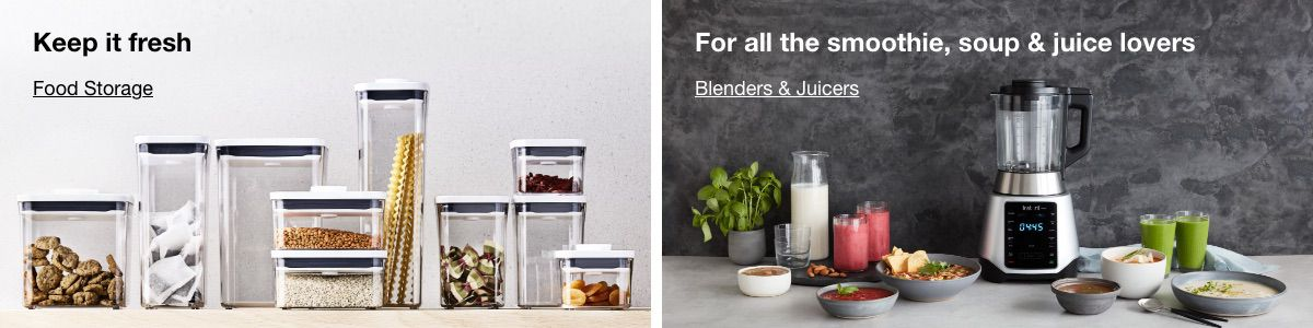 Keep it fresh, Food Storage, For all the smoothie, soup and juice lovers, Blenders and Juicers