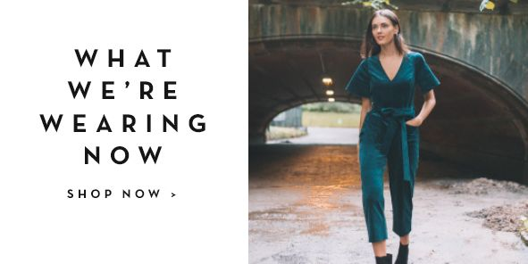 What We're Wearing Now, Shop Now