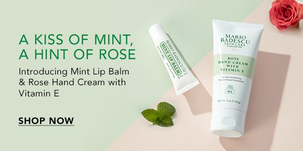 A Kiss of Mint a Hint of Rose, Shop Now