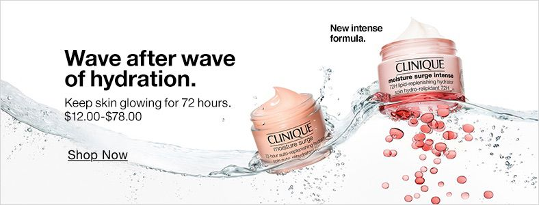 Wave after wave of hydration Shop Now, New intense formula