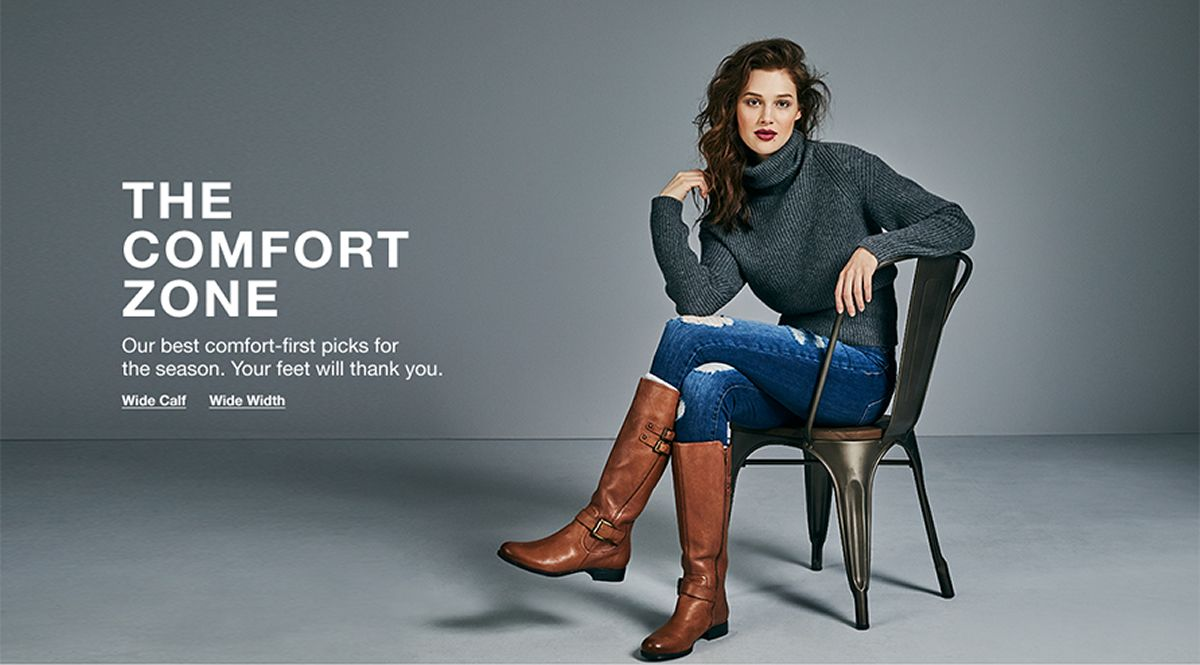 The Comfort Zone, Our best comfort-first picks for the season, Your feet will thank you, Wild Calf, Wide Width
