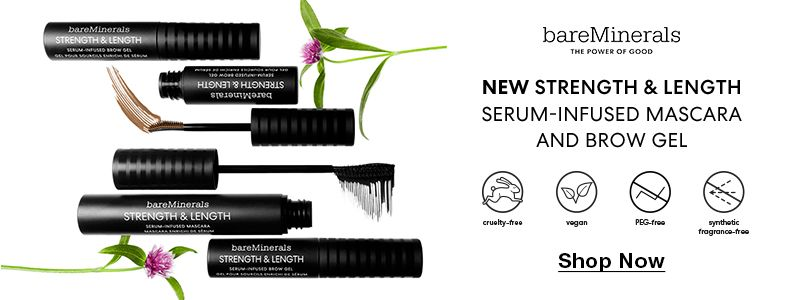 Bare Minerals, New Strength and Length, Shop Now