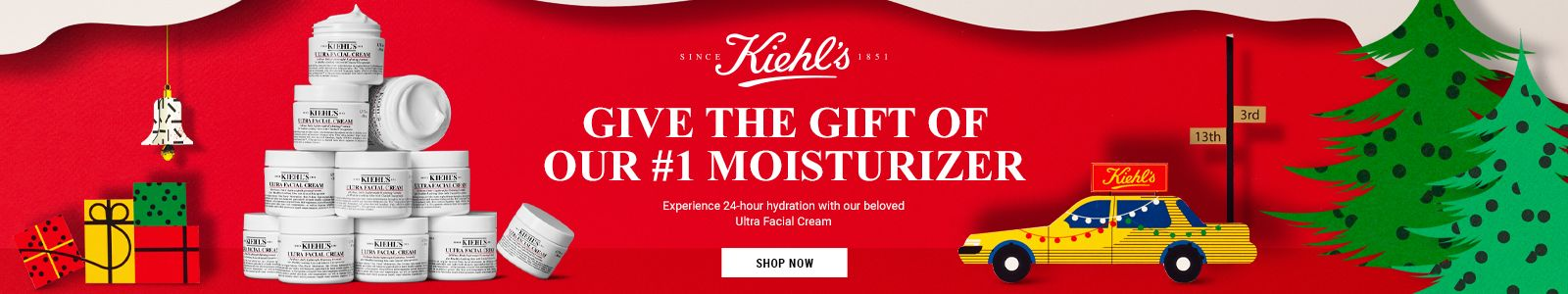 Since Kiehls, Give The Gift of Our 1 Moisturizer, Shop Now