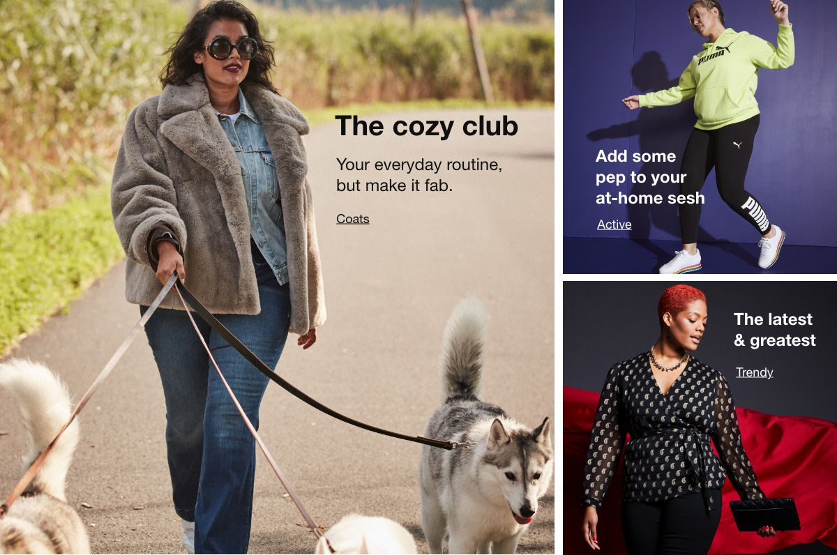 The cozy club, Coats, add some pep to your at-home sesh, Active, The latest and greatest, Trendy
