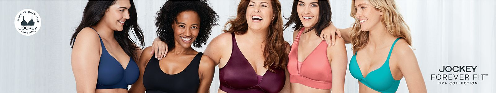 Jockey, Forever Fit, Bra Collection