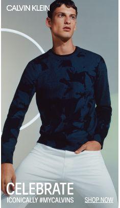 Calvin Klein, Celebrate, Iconically #Mycalvins, Shop Now