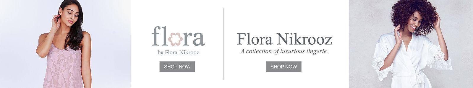 Flora by Flora N Krooz, Shop Now, Flora Nikrooz, a collection of luxurious lingerie, Shop Now
