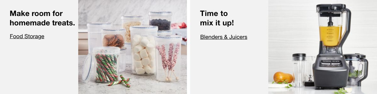 Make room for homemade treats, Food Storage, Time to mix it up,