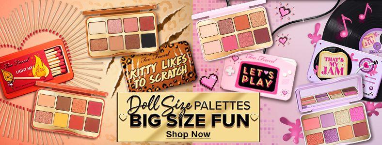 Doll Size Palettes, Big Size Fun, Shop Now