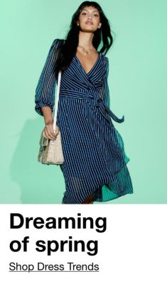 Dreaming of spring, Shop The Dress Trends