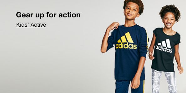 Gear up for action, Kids Active