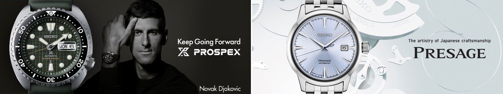 Keep Going Forward, Novak Djokovic, The artistry of japanese craftsmanship, Presage