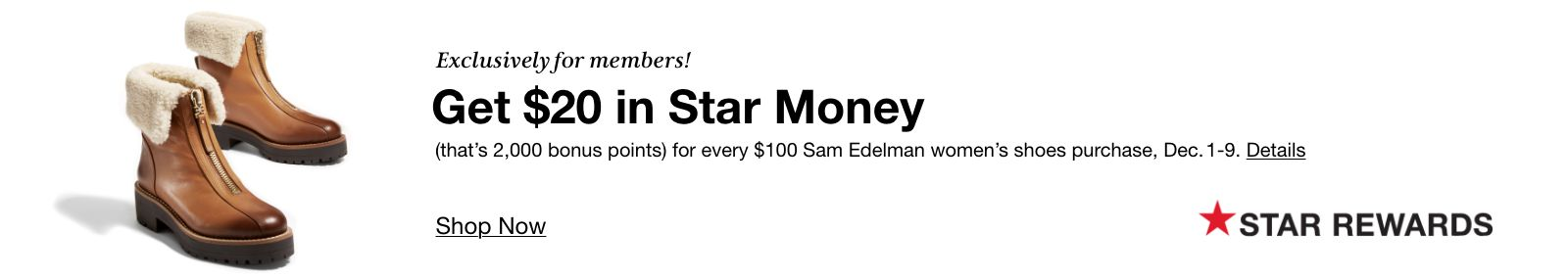 Sam Edelman Star Money