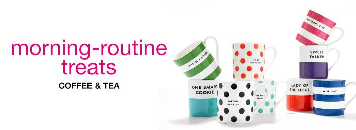 Morning-routine treats, Coffee and Tea