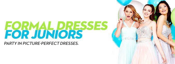 Formal Dresses for Juniors